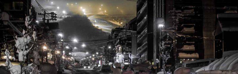 Hirafu's night lights