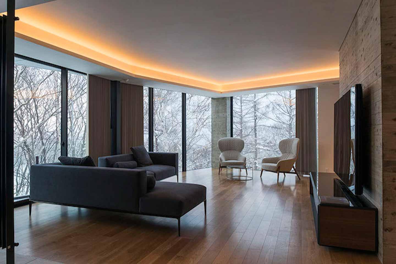 Kozue Niseko Penthouse Living Room