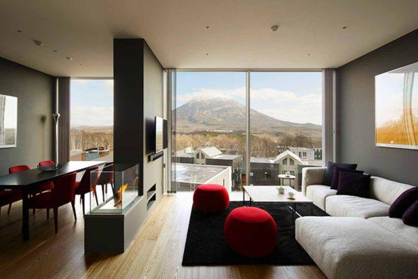 Terrazze Niseko Living Room
