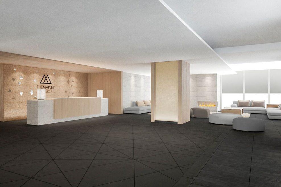 The Maples Niseko Foyer