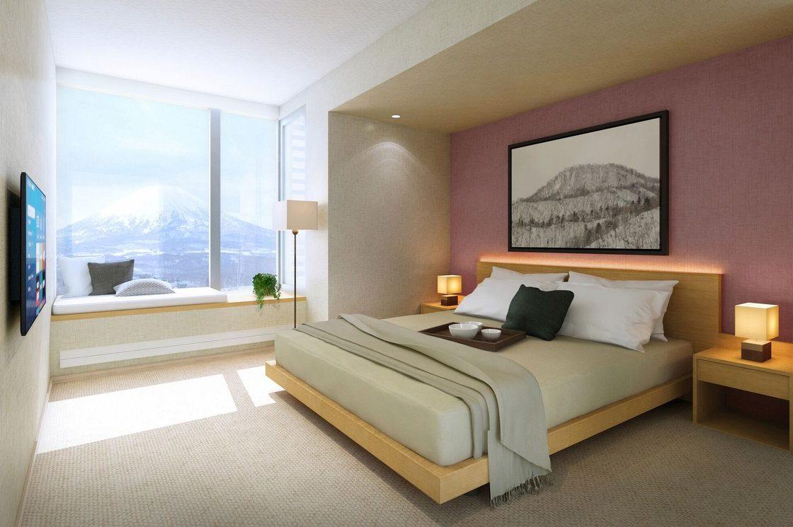 The Maples Niseko Master Bedroom